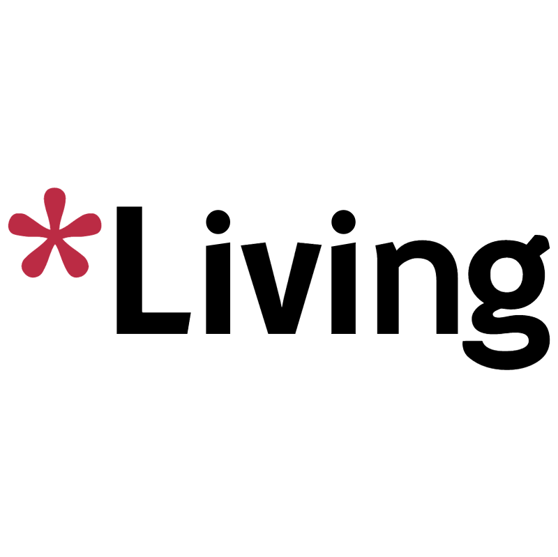 Living TV vector logo
