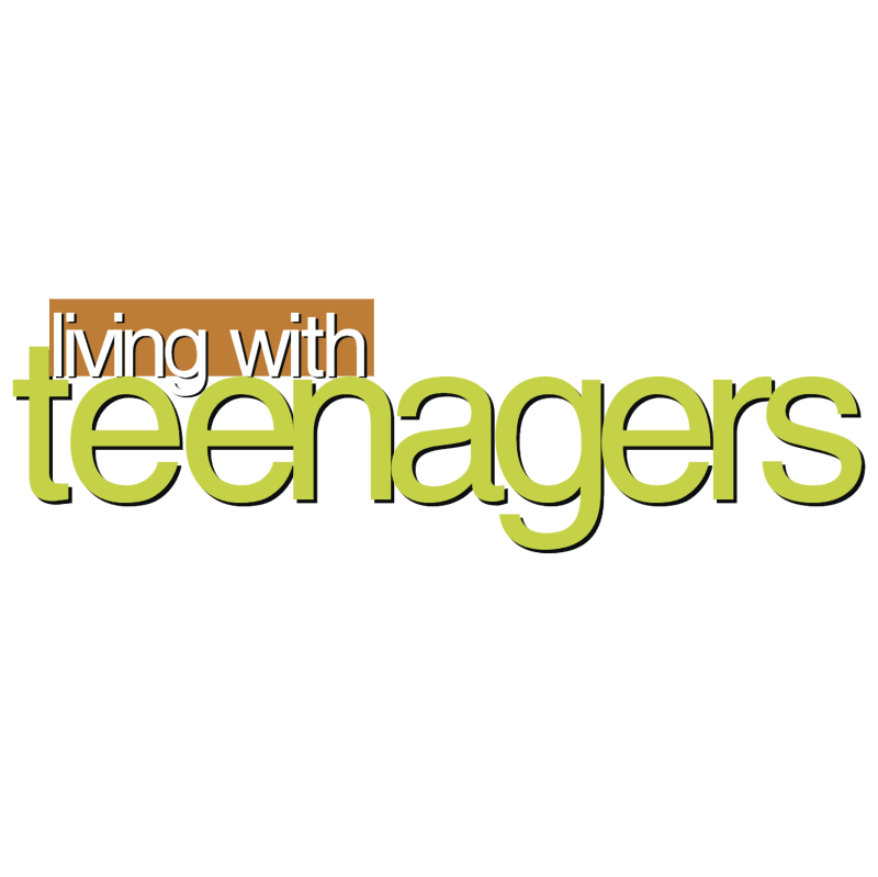 Living with teenagers vector
