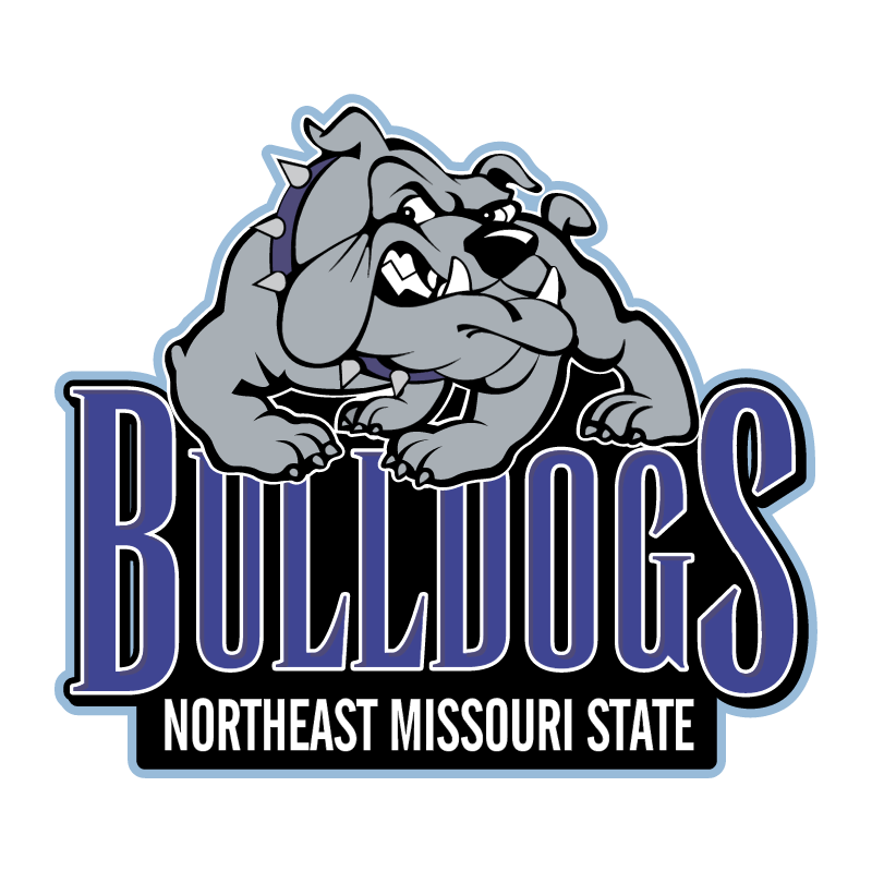 Northeast Missouri State Bulldogs vector