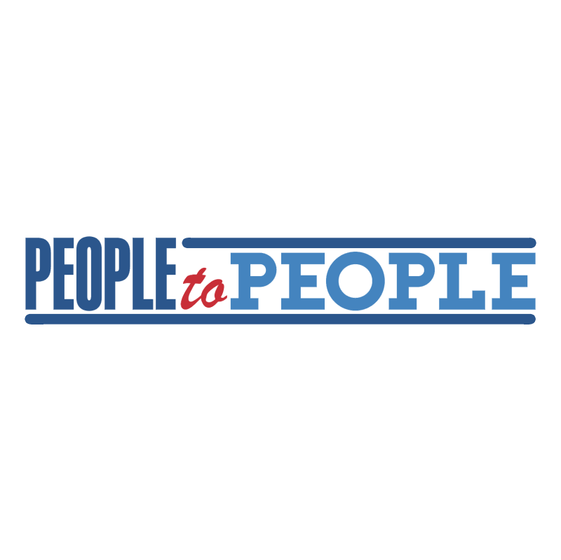 People to People vector logo