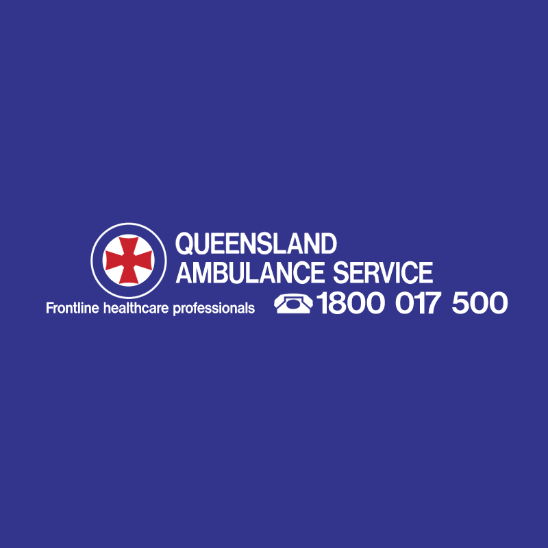 Queensland Ambulance Service vector logo