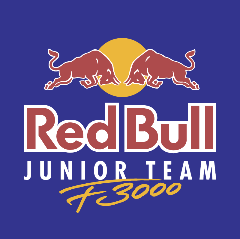 Red Bull Junior Team F3000 vector