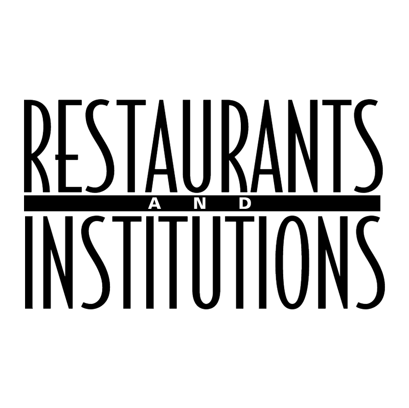 Restaurants & Institutions vector logo