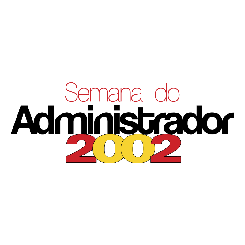Semana do Administrador vector