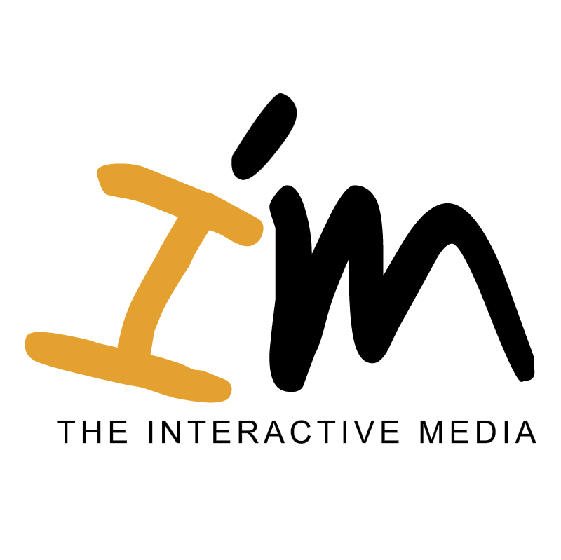 the interactive media vector logo