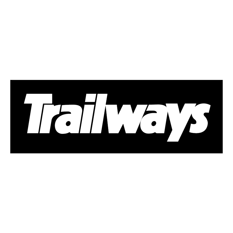 Trailways vector