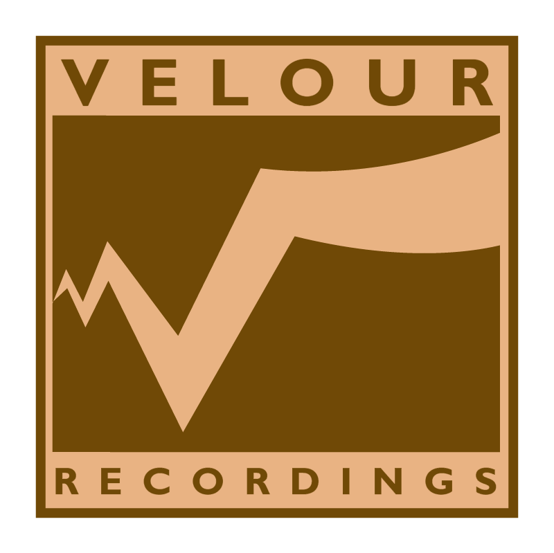 Velour Recordings vector logo