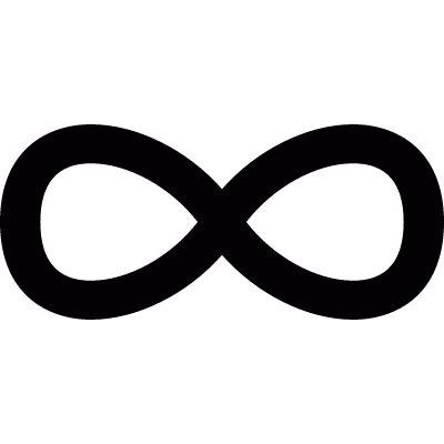 Infinity sign logo