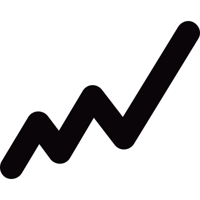 Graph line vector logo