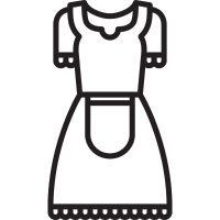 Antique Dress vector