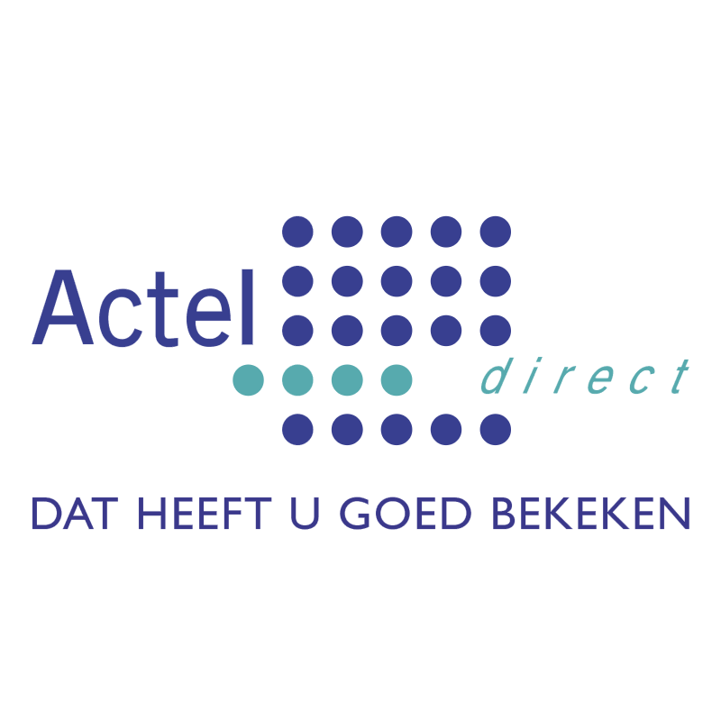 ACTELdirect 42483 vector logo