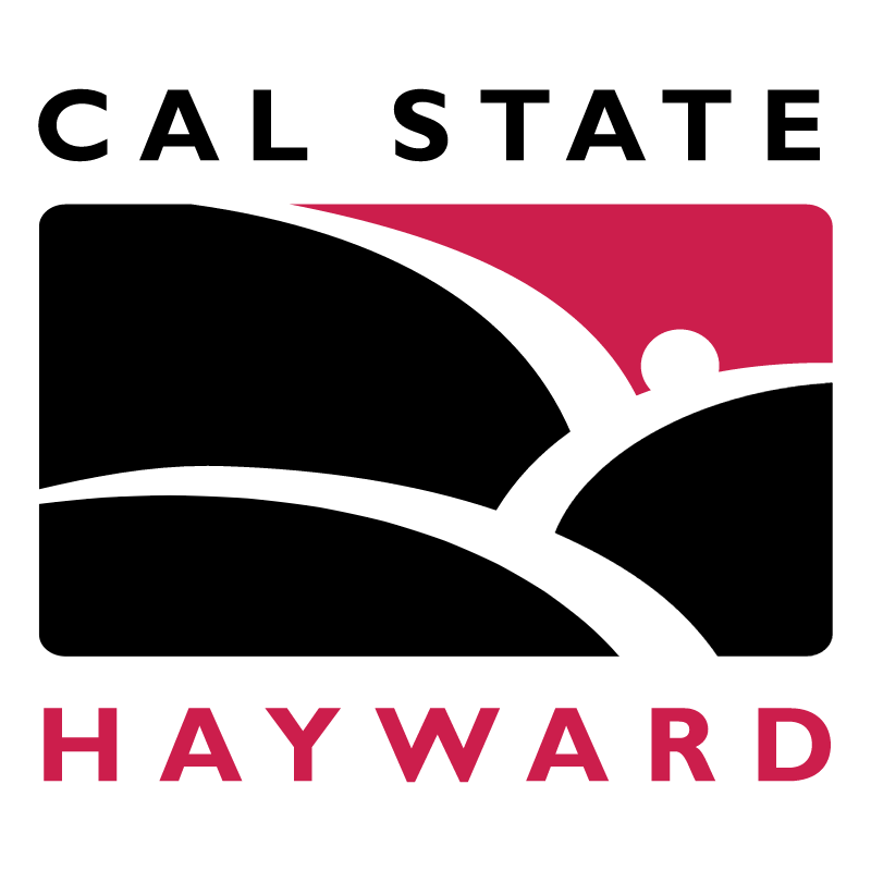 Cal State University Hayward vector logo