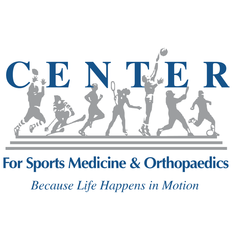 Center for Sports Medicine and Orthopaedics vector