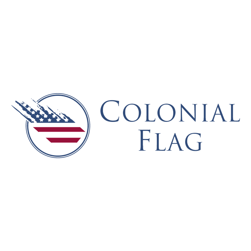 Colonial Flag vector