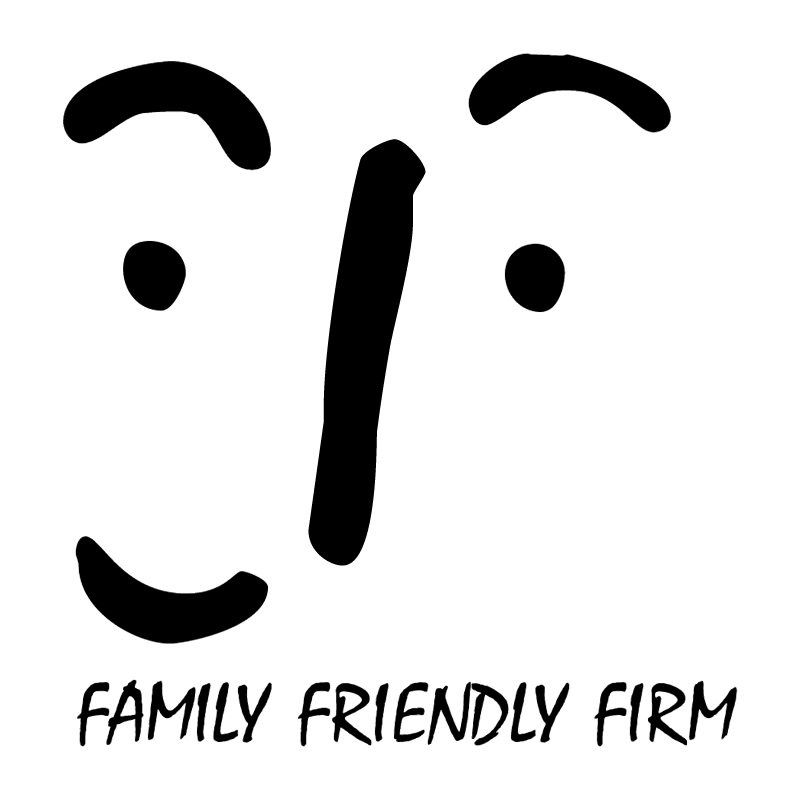 Family Friendly Firm vector logo