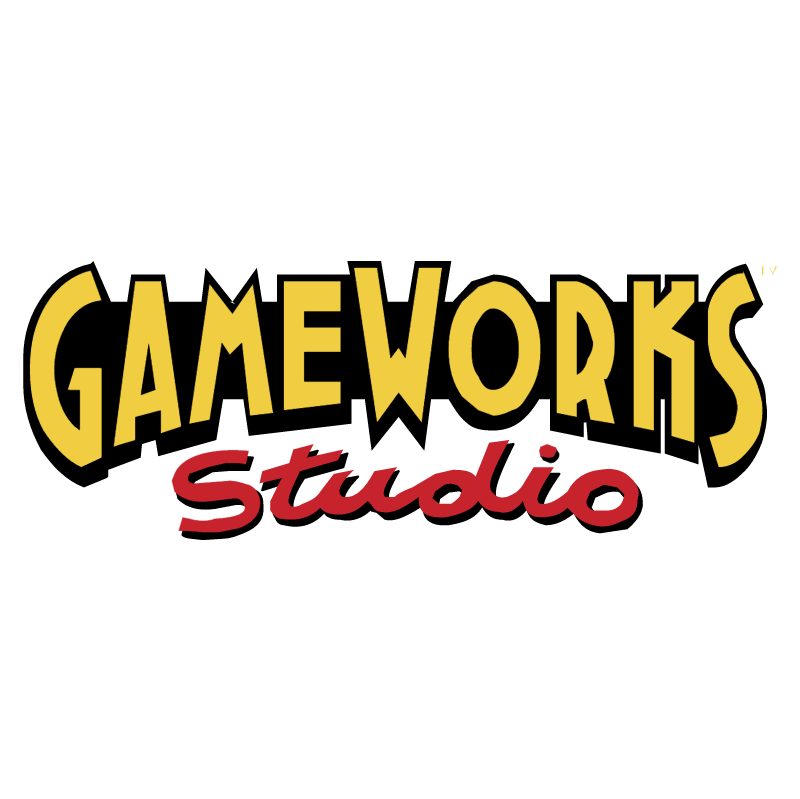 Game Works Studio vector