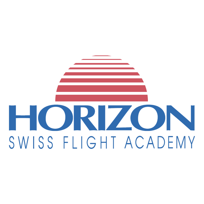 Horizon Swiss Flight Academy vector logo