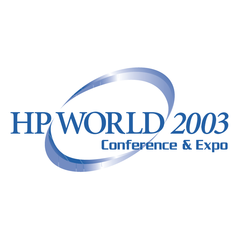 HP World 2003 vector logo