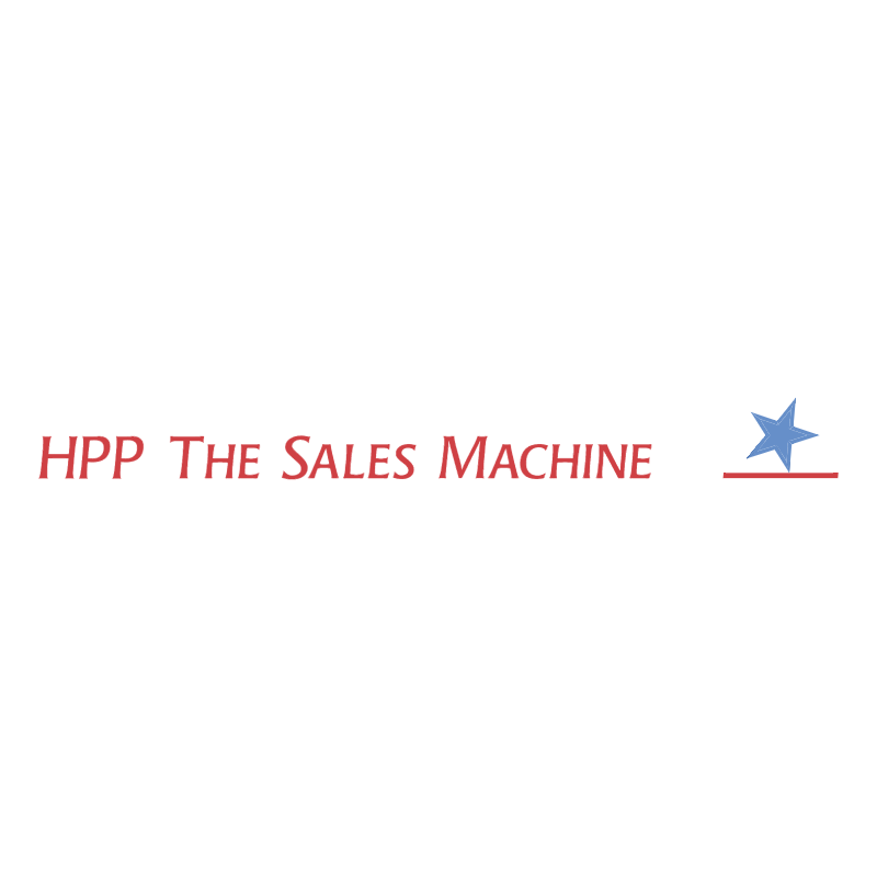 HPP The Sales Machine vector logo
