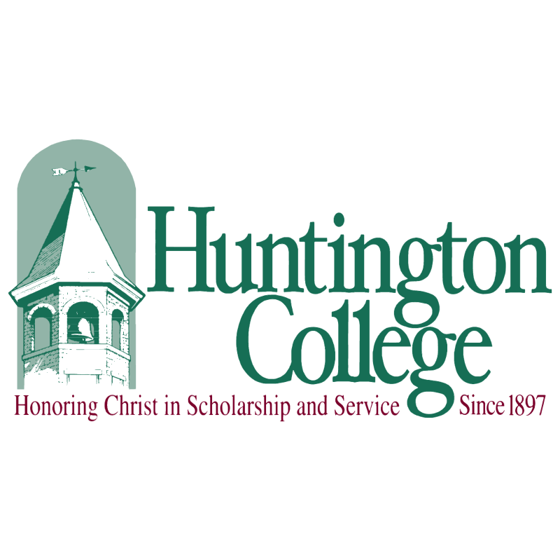 Huntington College vector logo