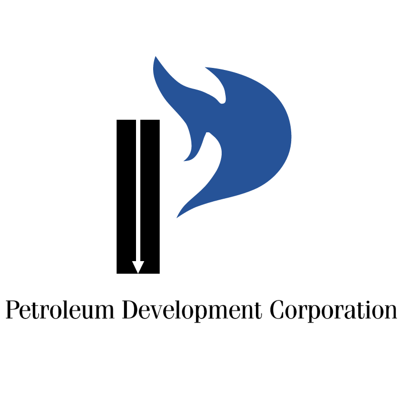 Petroleum Development Corporation vector logo
