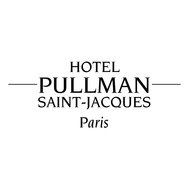 Pullman Saint Jacque Paris vector