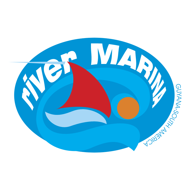 River Marina vector