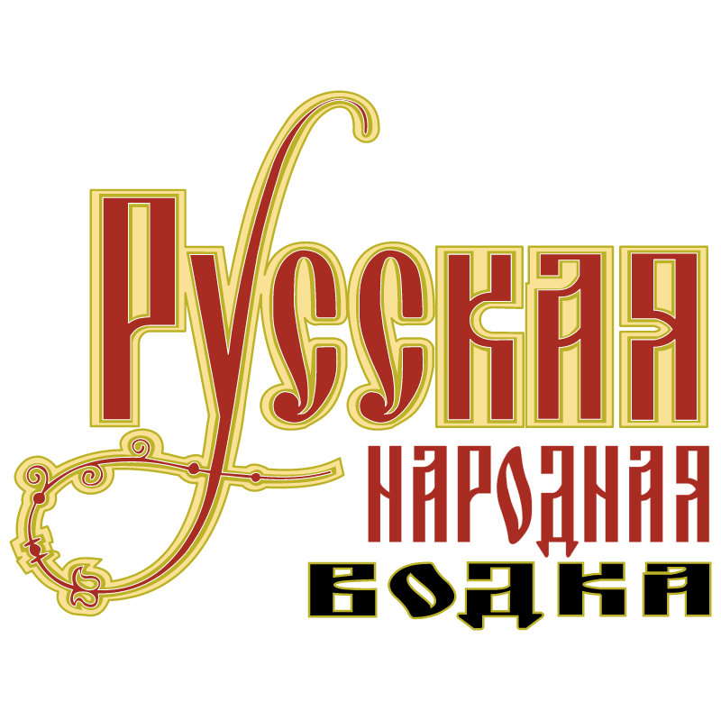 Russkaya Vodka vector