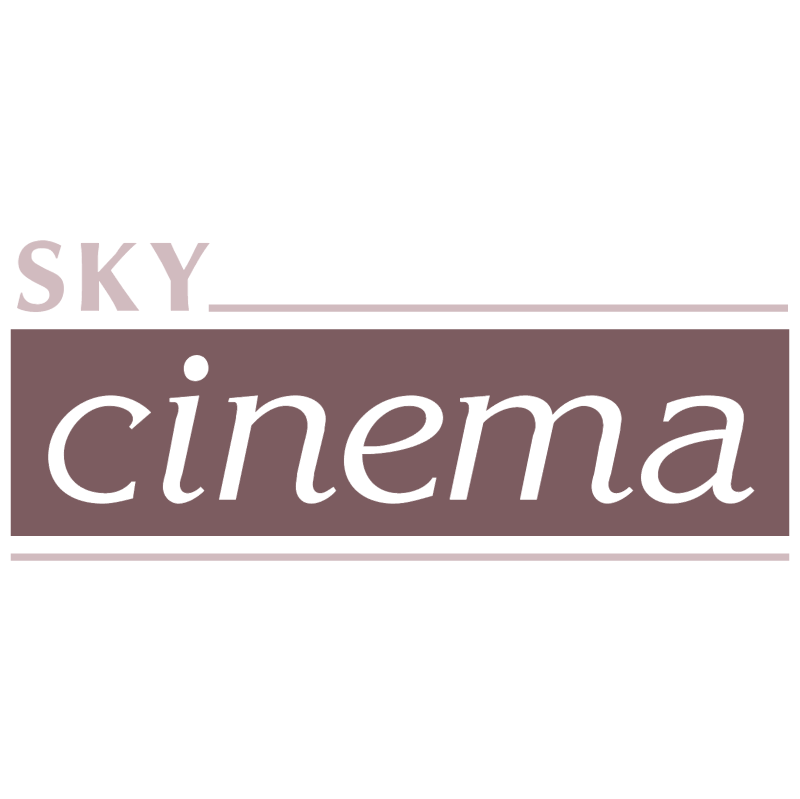 Sky cinema vector logo