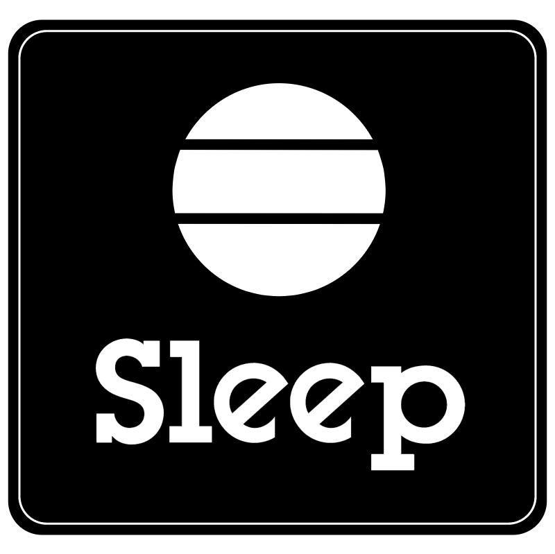 Sleep vector logo