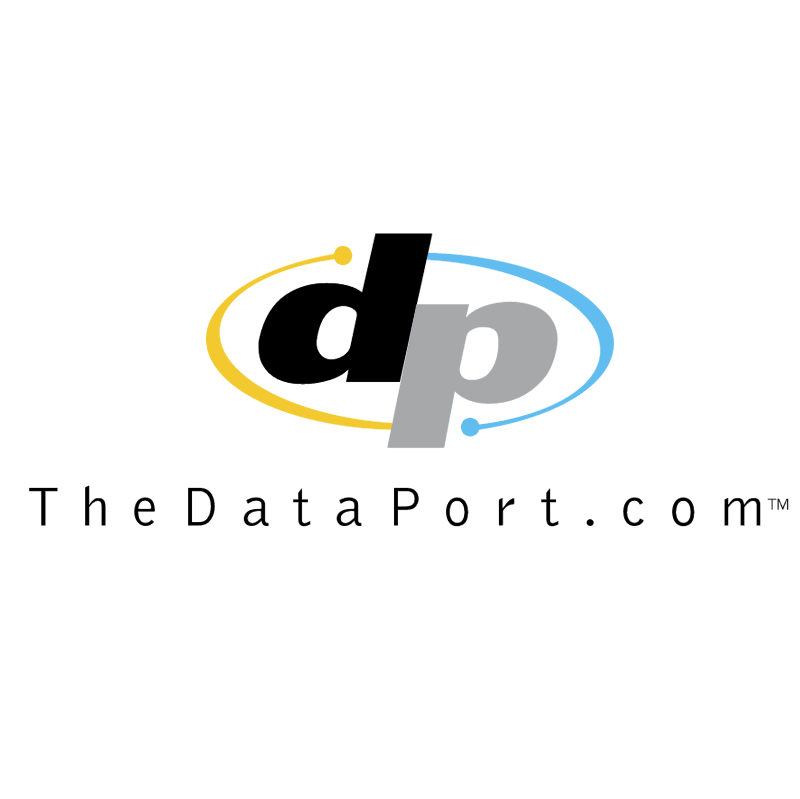 TheDataPort com vector