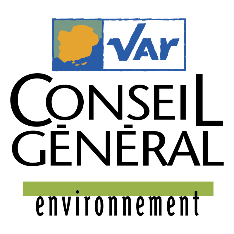 Var Conseil General vector