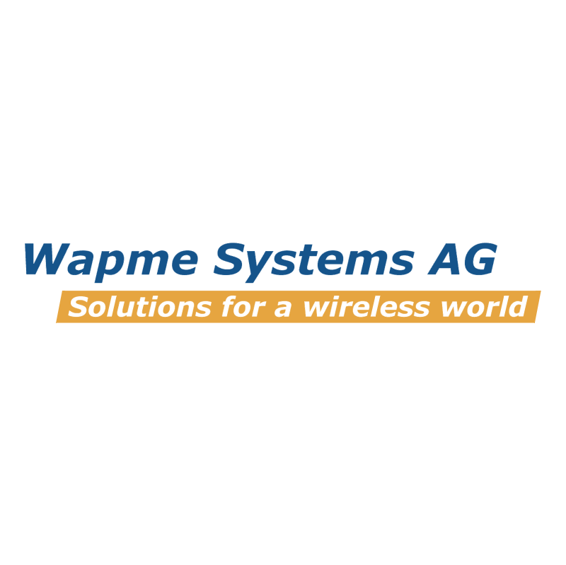 Wapme Systems vector