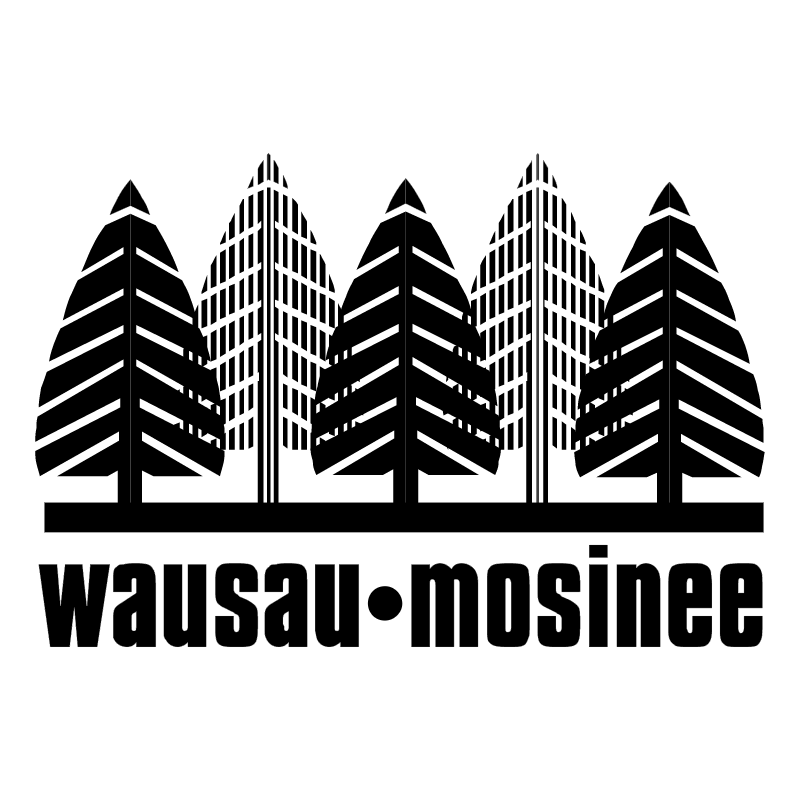 Wausau Mosinee vector