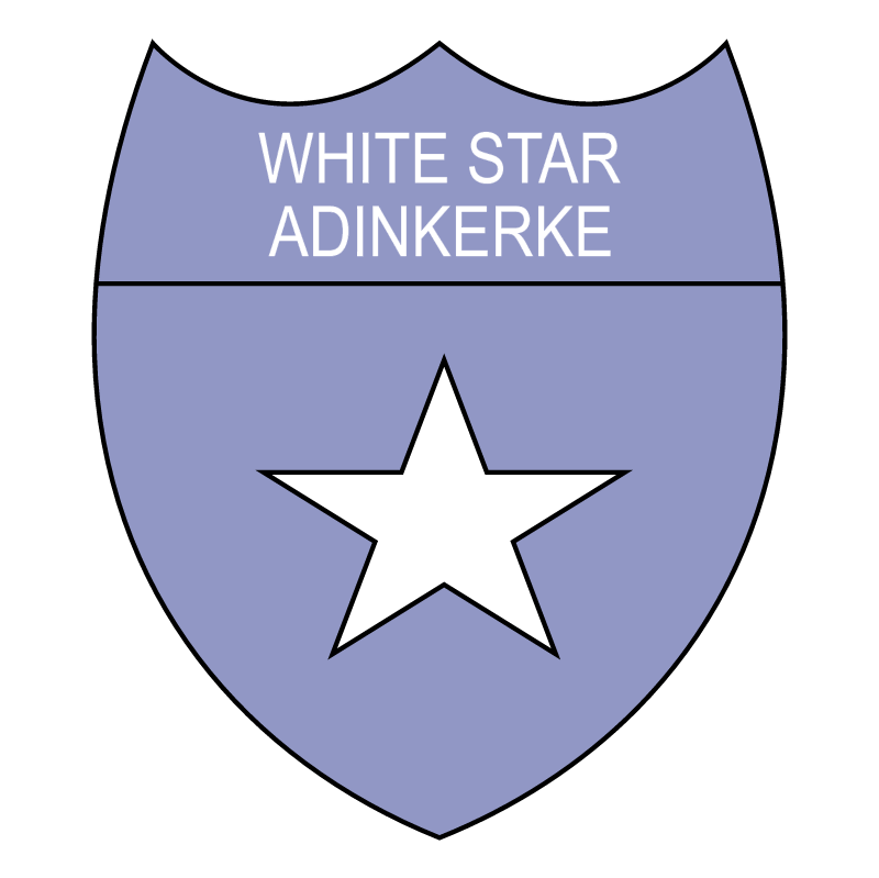 White Star Adinkerke vector
