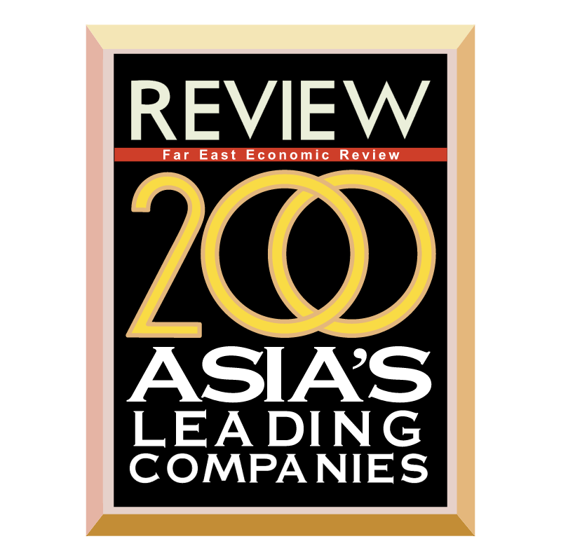 200 Asia's Leading Companies vector