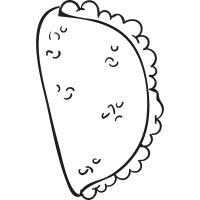 Pita Bread vector