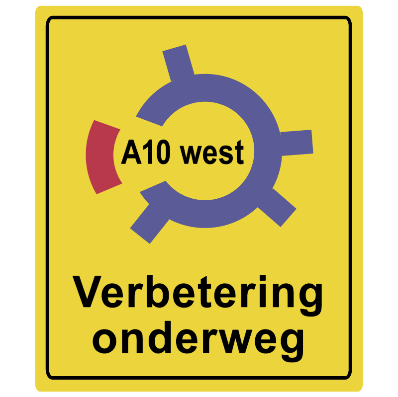 A10 West vector logo