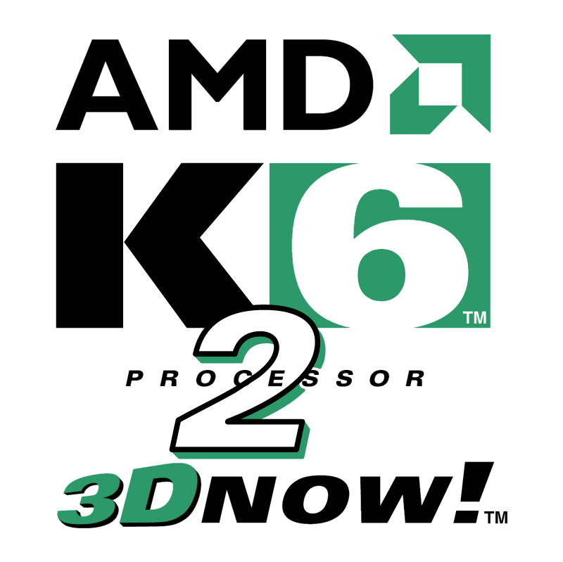 AMD K6 2 Processor vector logo
