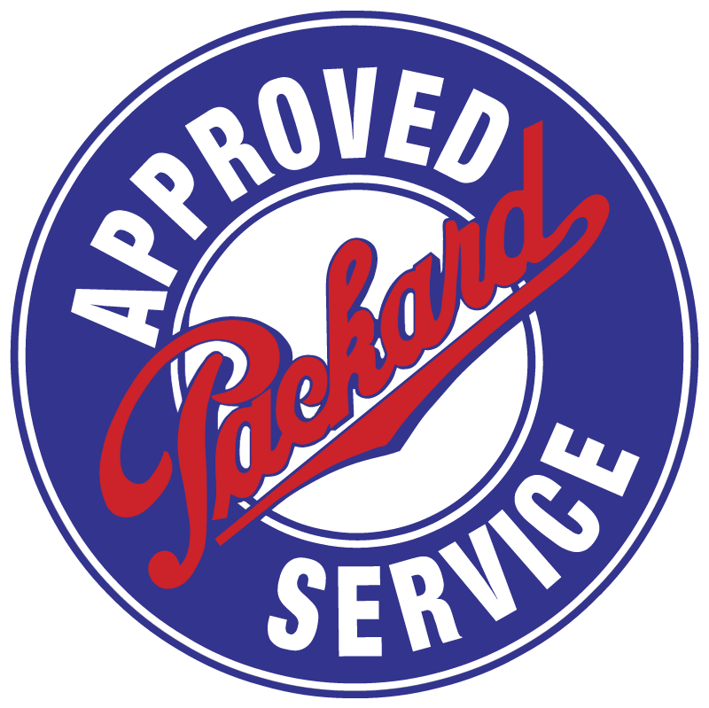 Approved Packard Service vector