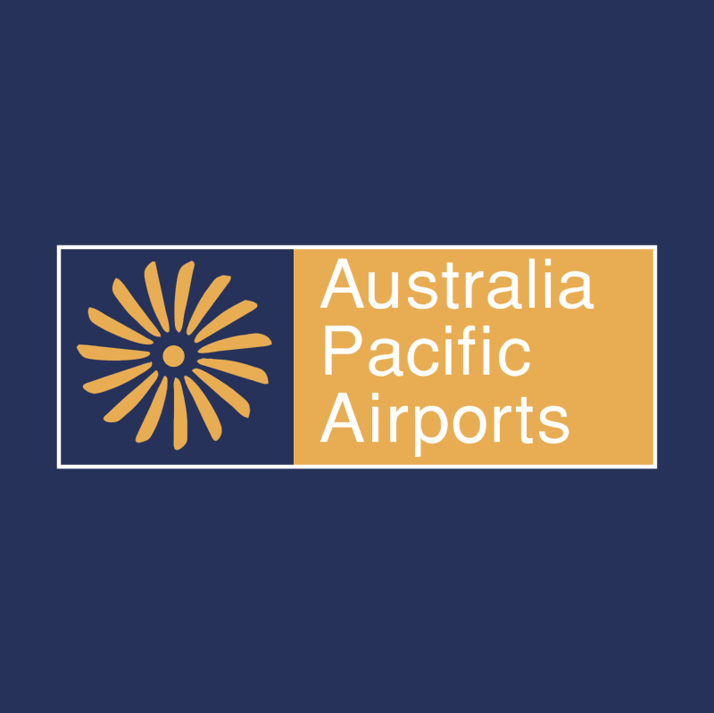 Australia Pacific Airports vector