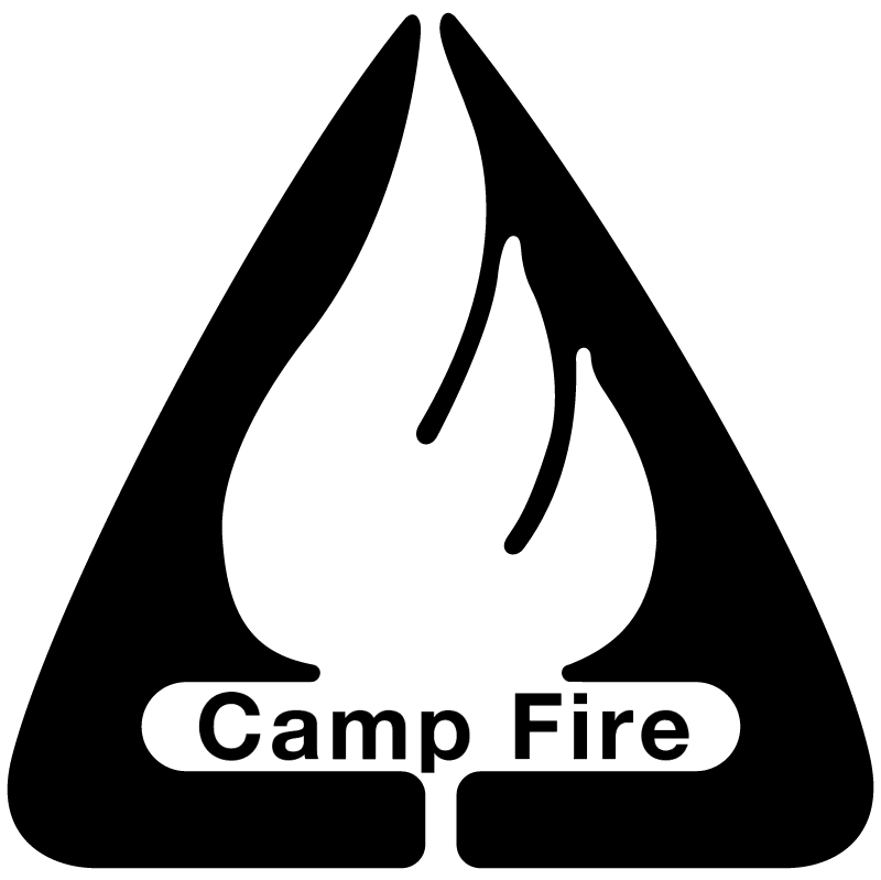 Camp Fire vector logo