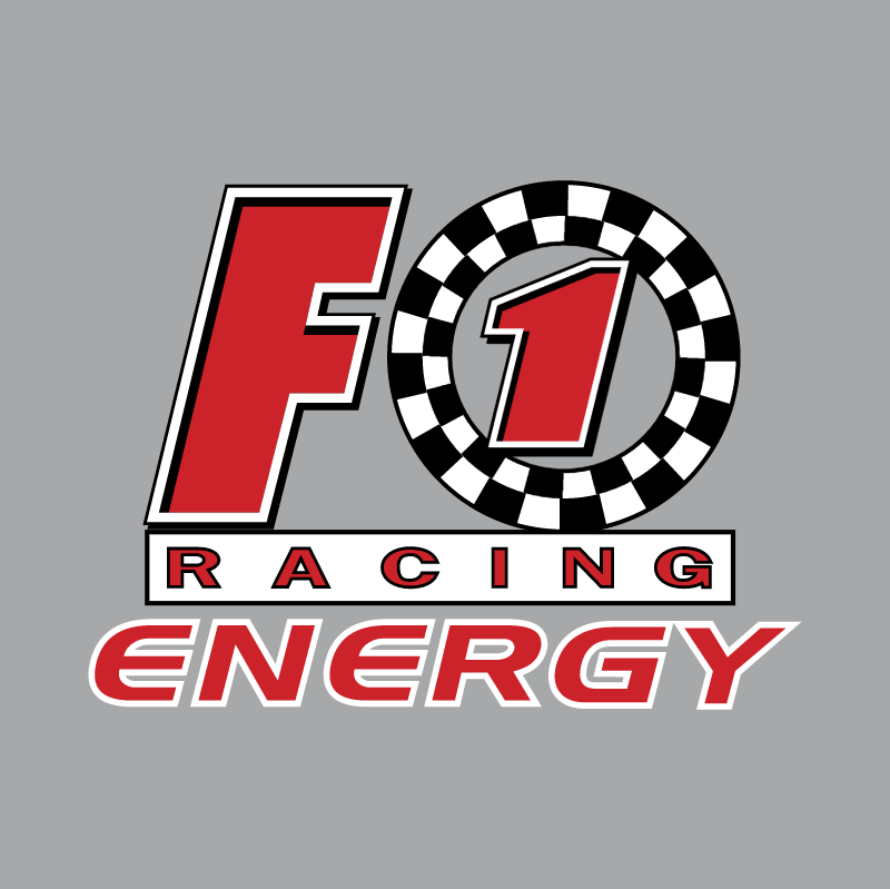 F1 Racing Energy vector logo