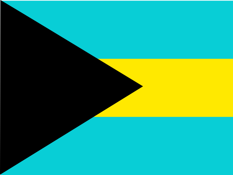 Flag of Bahamas vector logo