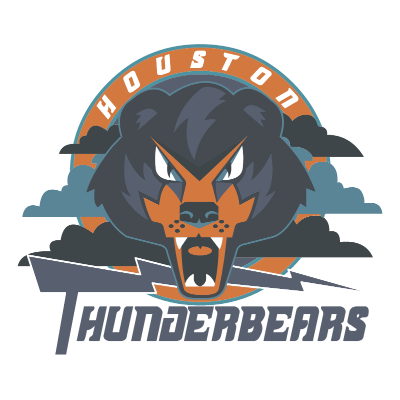Houston Thunderbears vector