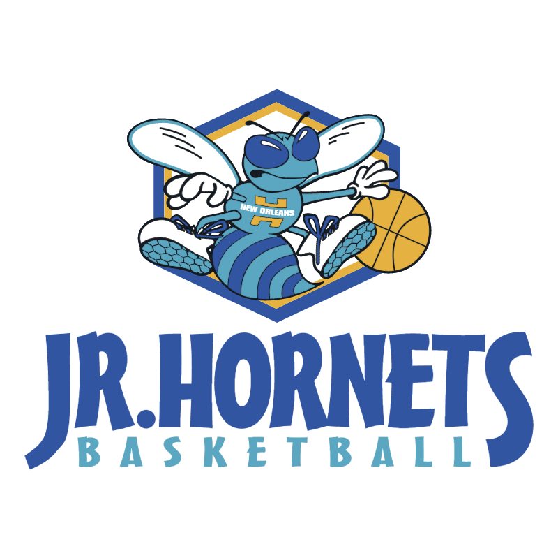 Jr Hornets Basketball vector logo