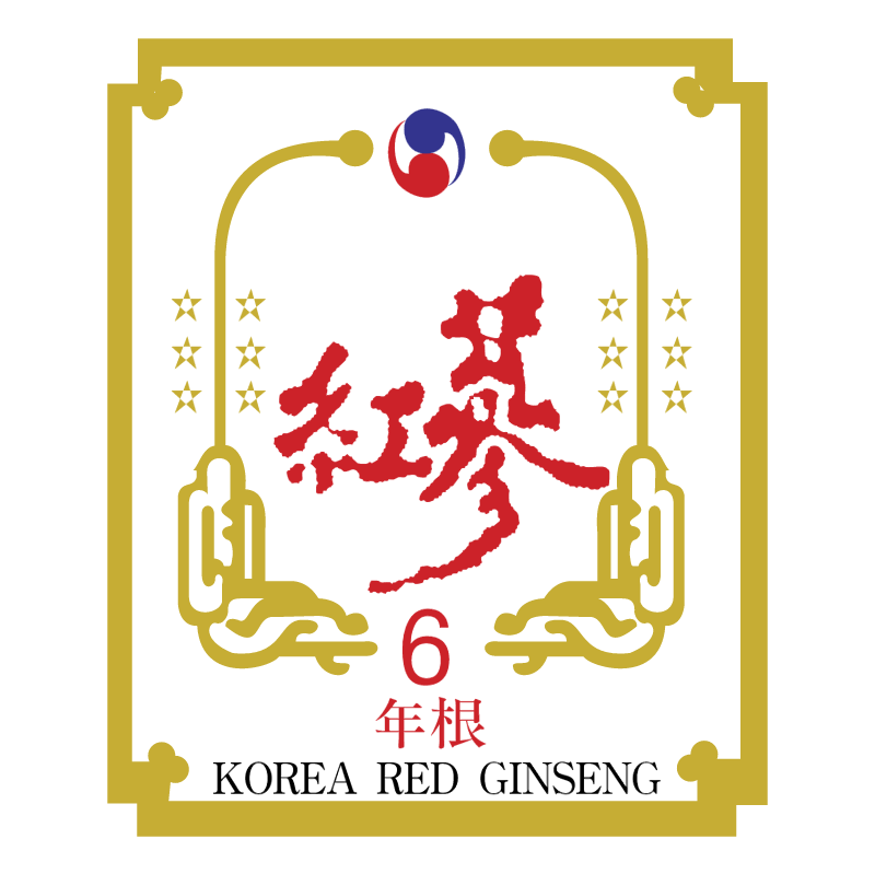 Korea Red Ginseng vector