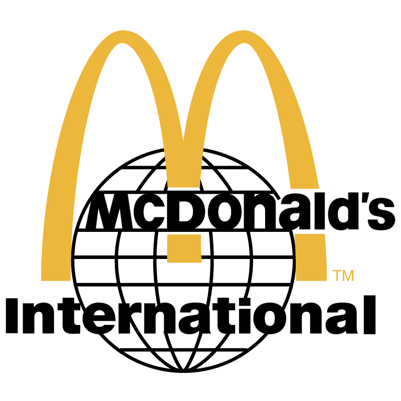 McDonald's International vector