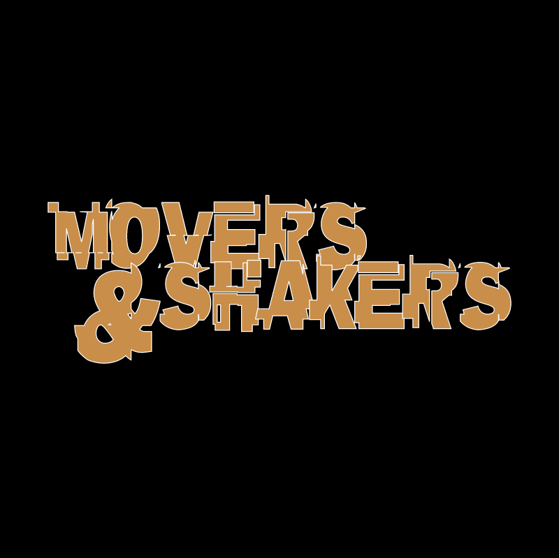 Movers & Shakers vector