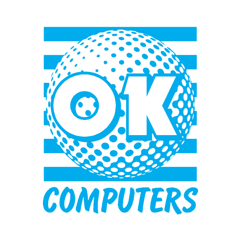 OK Computers vector logo